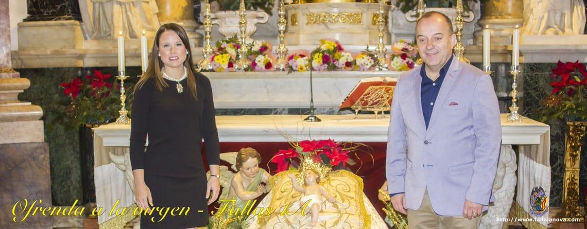 _Primera Ofrenda a la Virgen de los Desamparados 2018