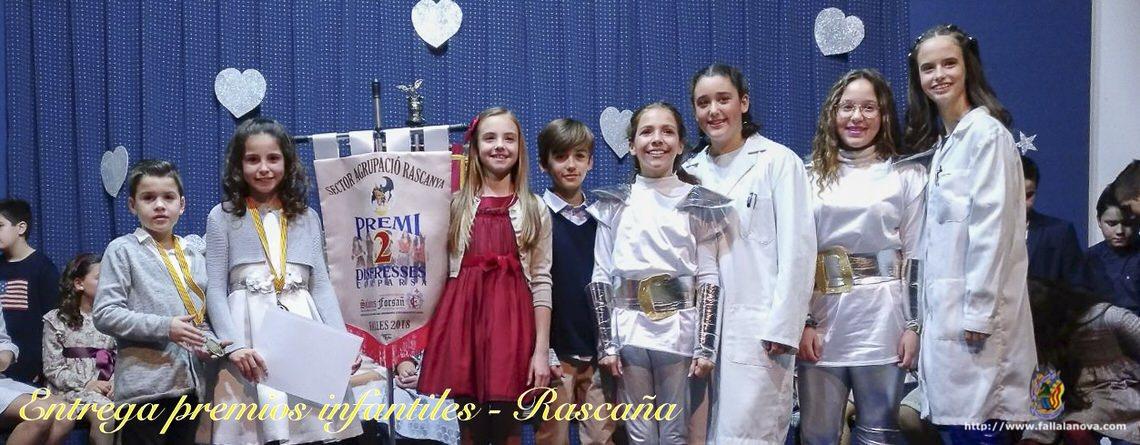 _Entrega de premios infantiles – Agrupación Rascanya