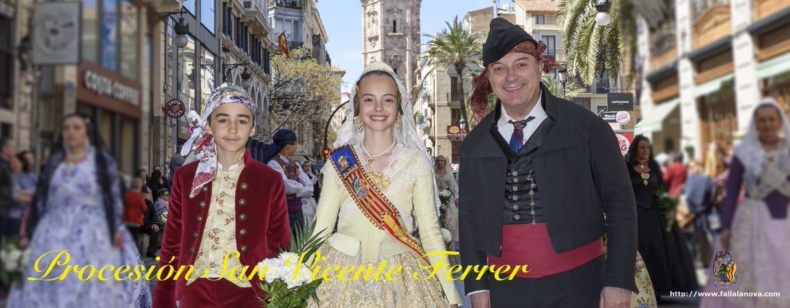 _Procesión Cívica de San Vicente Ferrer 2018