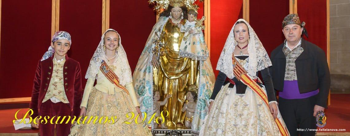 _Besamanos a la Virgen de los Desamparados 2018