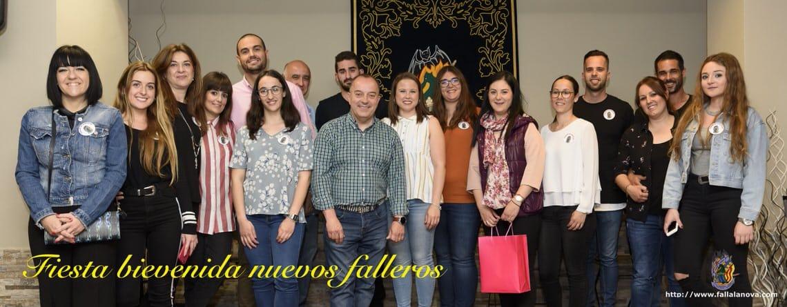 _Fiesta bienvenida nuevos falleros