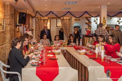 Cena de Navidad de la Federación de Fallas 1A