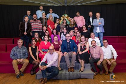 Falleras Mayores 2019 de la Agrupación Sector Rascanya y presidentes