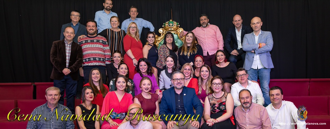 _Cena Navidad Agrupación Rascanya – 2018
