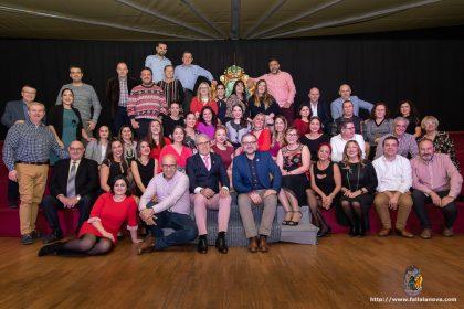 Falleras Mayores 2019 de la Agrupación Sector Rascanya, presidentes y directiva