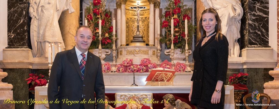 _Primera Ofrenda a la Virgen de los Desamparados 2019