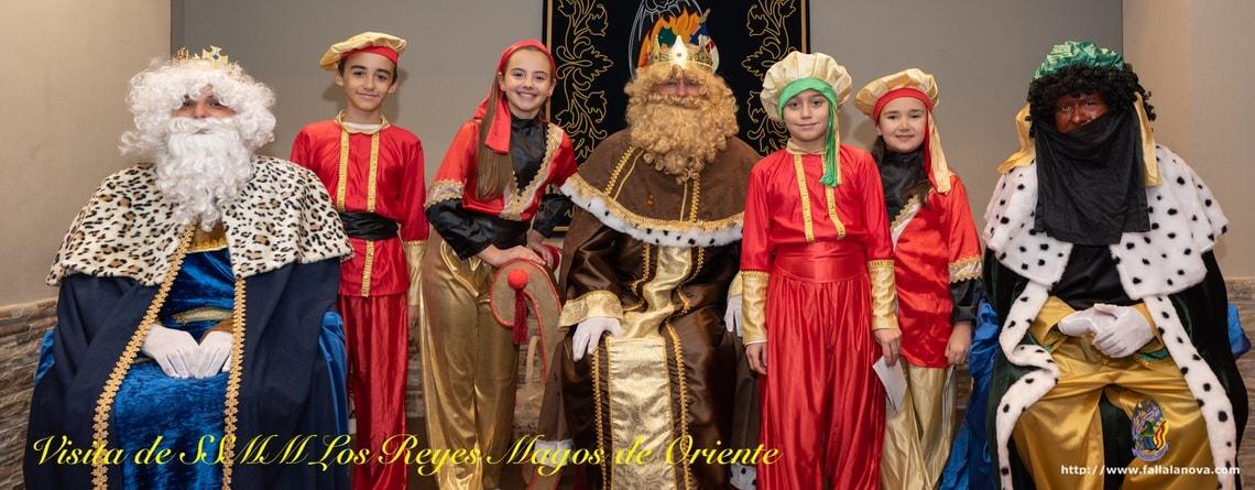 _Visita SSMM los Reyes Magos de Oriente 2019