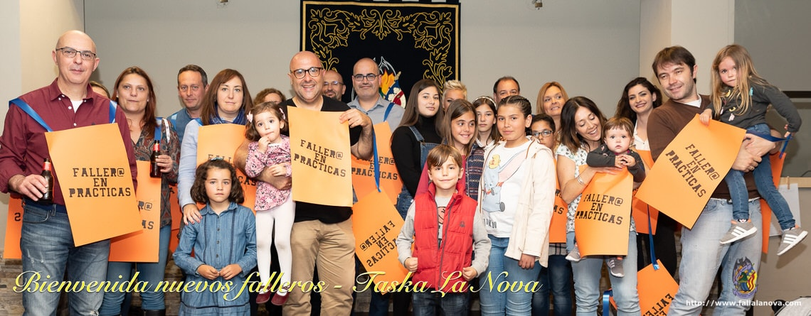 _Fiesta bienvenida nuevos falleros 2019