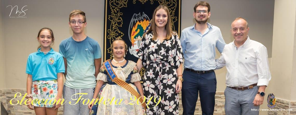 _Carla López Grande – Seleccionada a Corte de Honor Infantil – Fallas 2020
