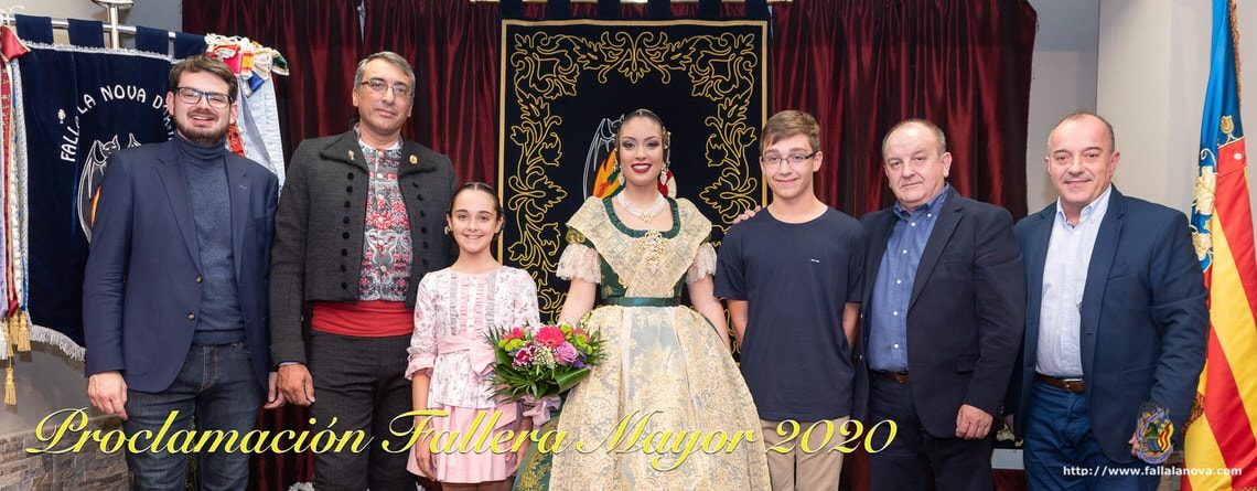 _Proclamación Fallera Mayor 2020 – Diana Parra Montaña
