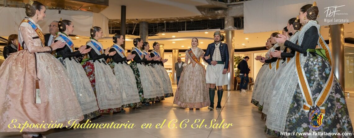 _Exposición Indumentaria valenciana en el centro comercial «El Saler»